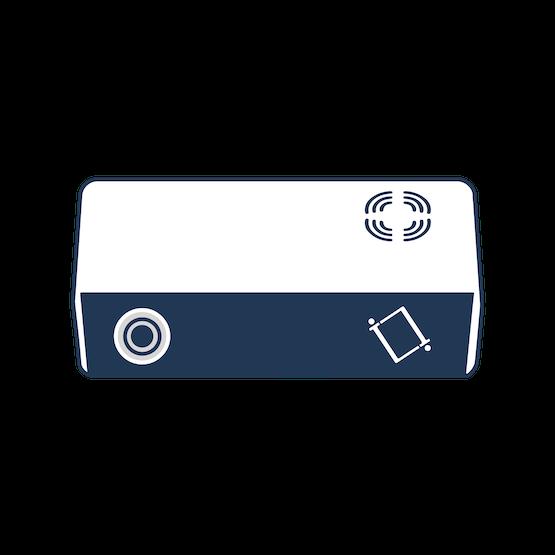 An illustration of the overhead sensor